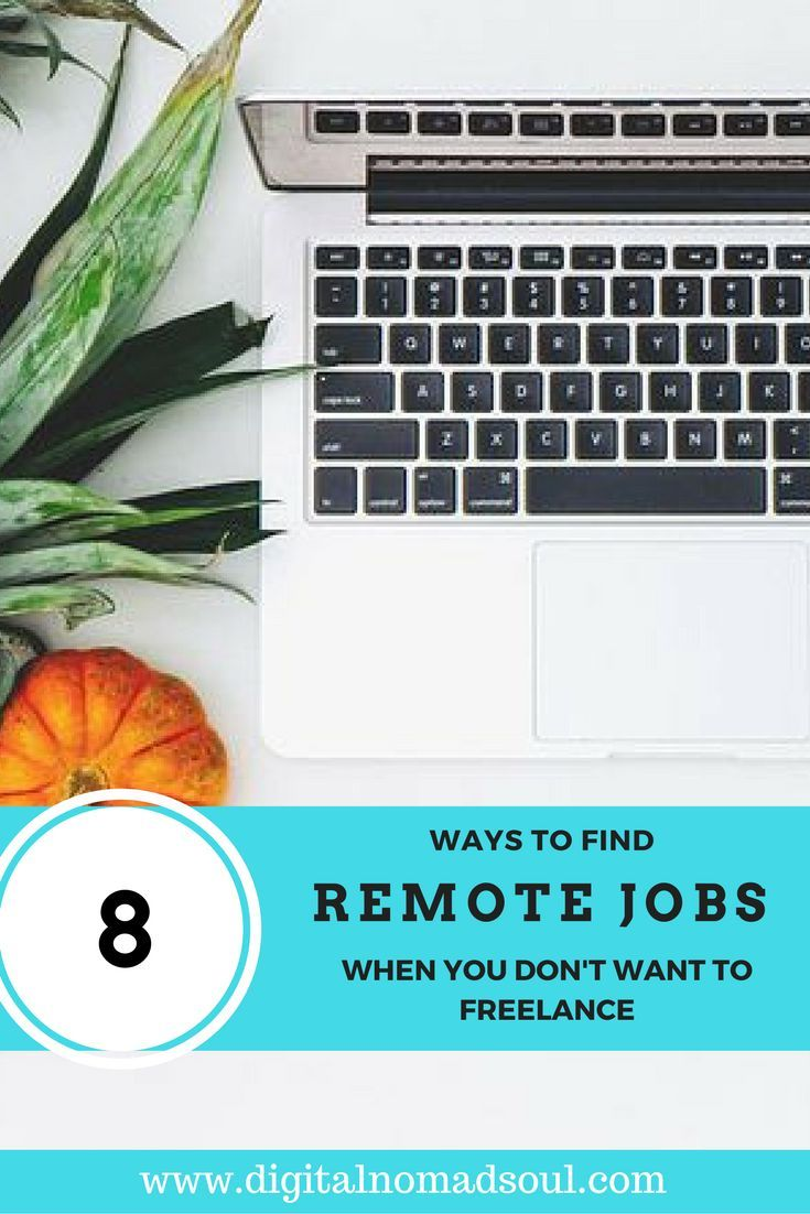 We know that there are many online job boards out there, where freelancers can find remote jobs. But what if you don't want to freelance but a permanant contract with a company? How and where can you get employed on a remote basis? This article shows you 8 different methods how to find an a work from home job and which companies are super remote-friendly.
