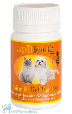 Joint Relief Tablets for Pets 500mg -Api Health- 60 Tablets | Shop New Zealand