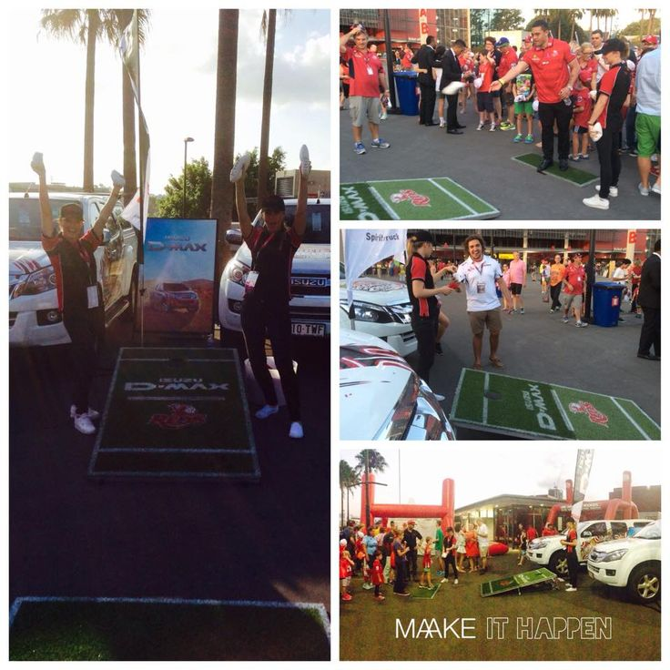 Isuzu Ute Australia - Activation Strategy, Execution and Event Staffing by MAAKE http://maake.com.au/