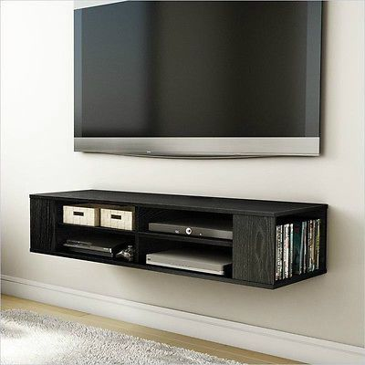 priceabate wall mount media center tv stand entertainment. Black Bedroom Furniture Sets. Home Design Ideas