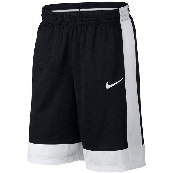Men's Nike Dri-FIT Fastbreak Shorts ($30) ❤ liked on Polyvore featuring men's fashion, men's clothing, men's activewear, men's activewear shorts, grey and mens activewear shorts