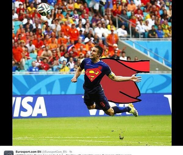 Van Persie - Super Dutch Man