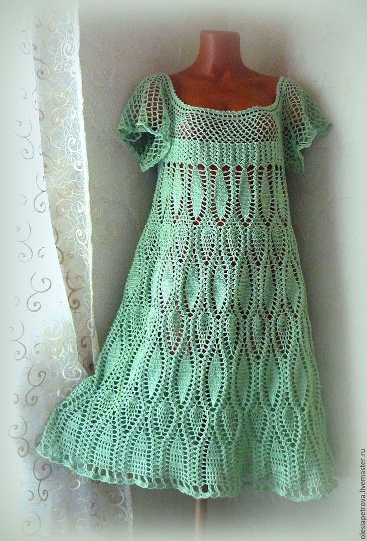 Купить Платье Изольда 2 - мятный, сарафан, платье, платье длинное, платье повседневное