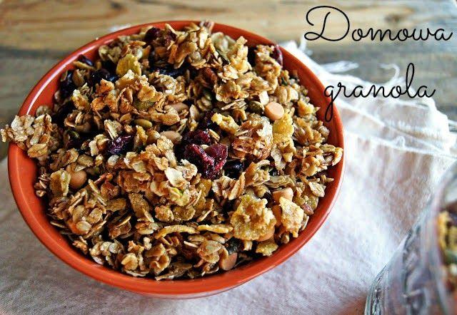 GET FIT STAY FIT: Zdrowa domowa granola bez cukru