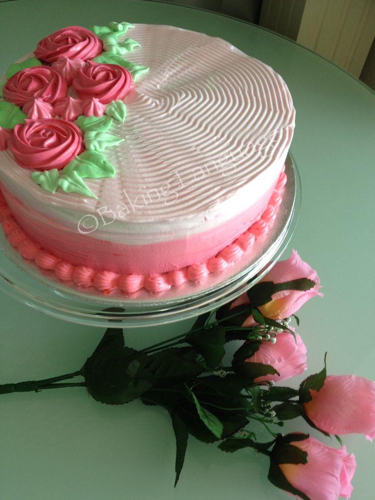 Lychee Martini Cake