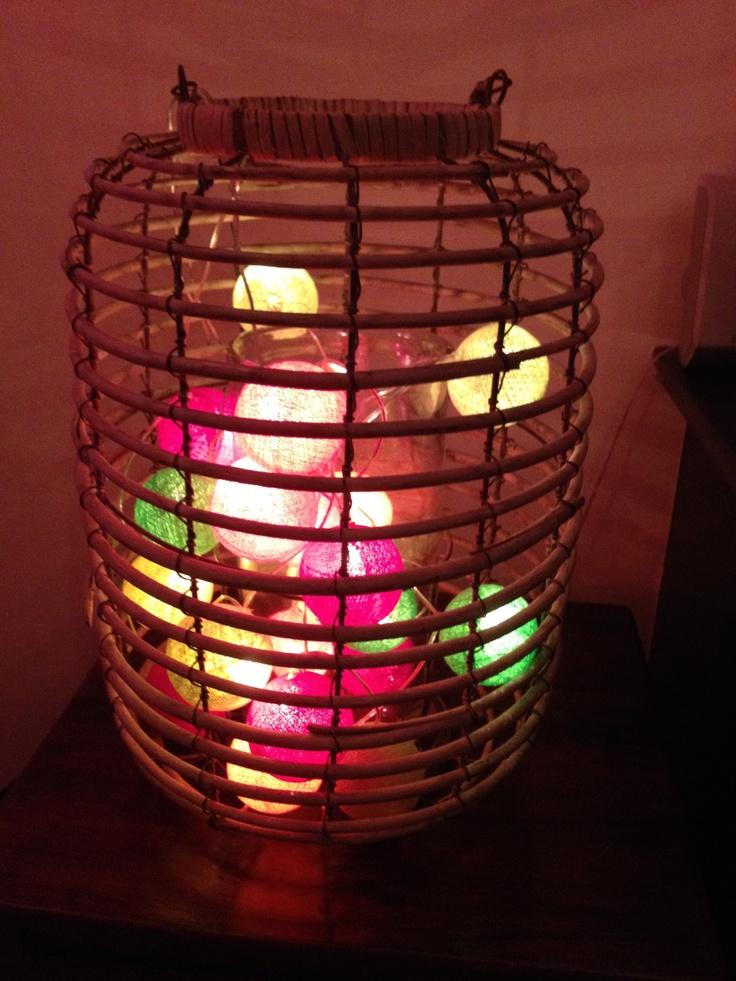 Colour ball lights