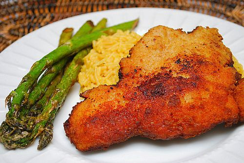 make-ahead breaded pork cutlets. looks awesome. great Polish food- perfect with potato pancakes and some liver dumpling soup!
