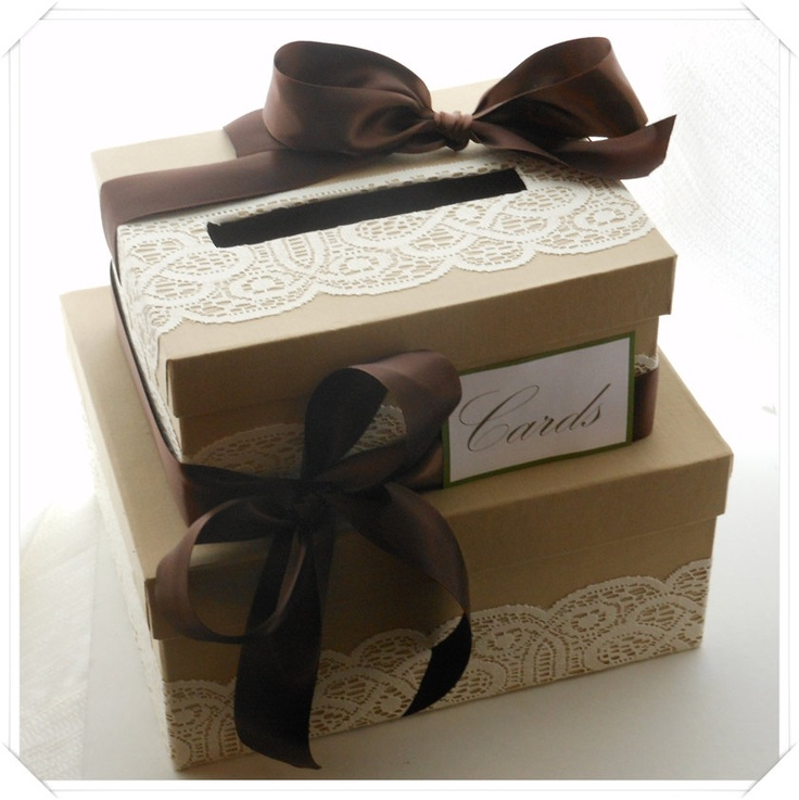 Wedding Card Box, but with emerald....