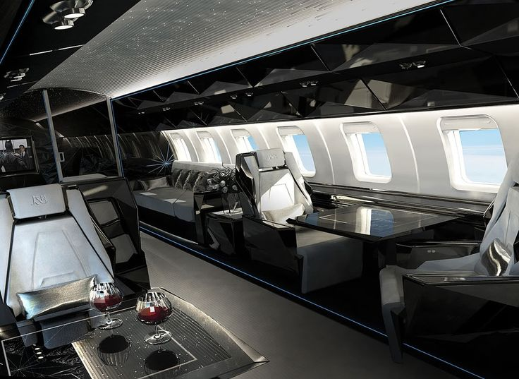 You've probably never been in a plane like this before. Here are 20 private plan interiors nicer than your house.
