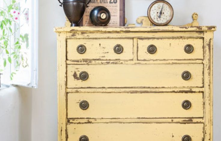 How to Patina Aged Milk Paint