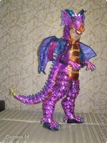 Мастер класс карнавальный костюм дракона