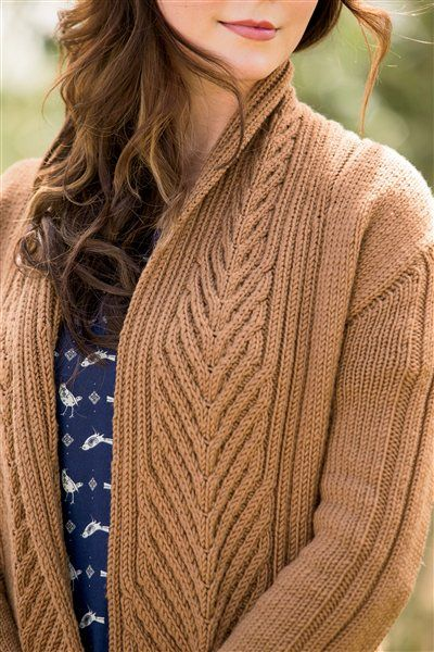 L'Acadie Cardigan - Media - Knitting Daily. I'd love this to be my next sweater project.