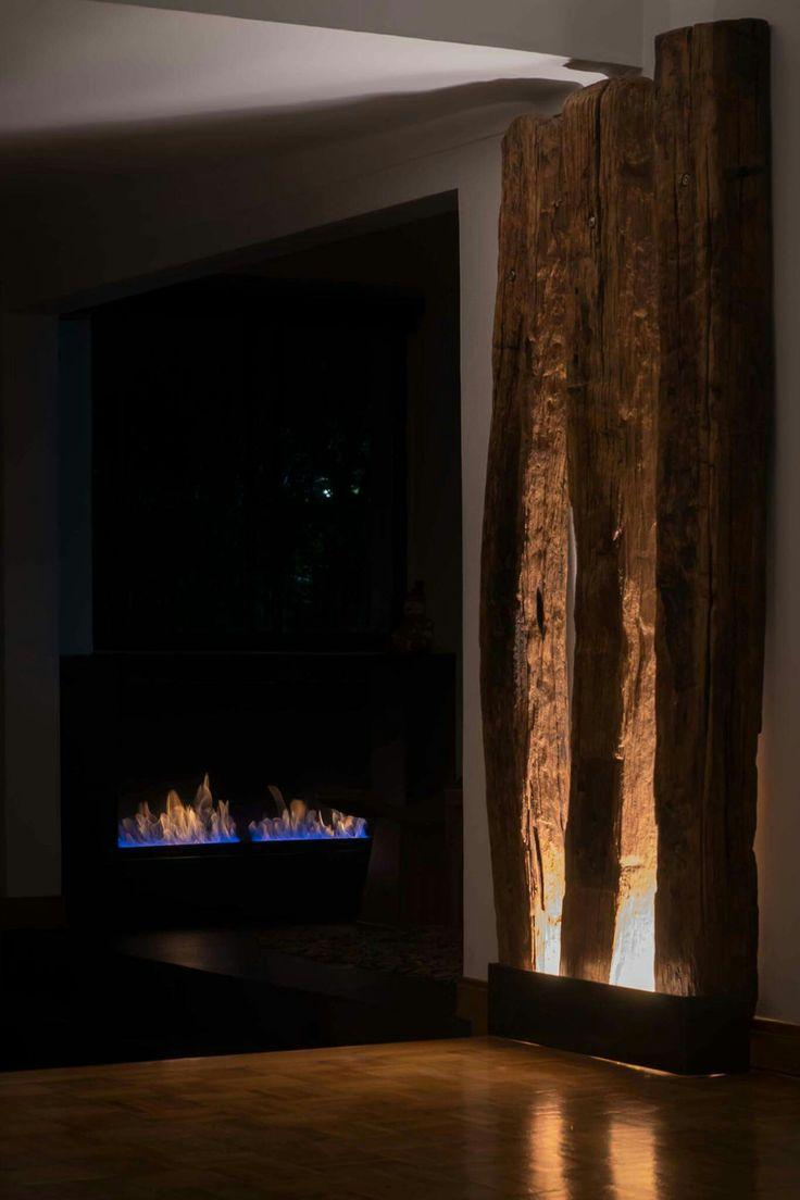 Delicioso ambiente  con #chimeneas #fueco de #bioetanol. www.fueco.co