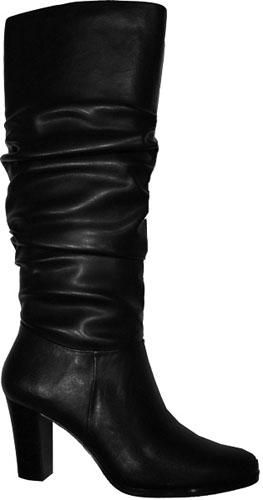 Winter classic boot - 2 3/4″ WOMEN'S BLACK NEVADA KNEE HIGH BOOTS BY