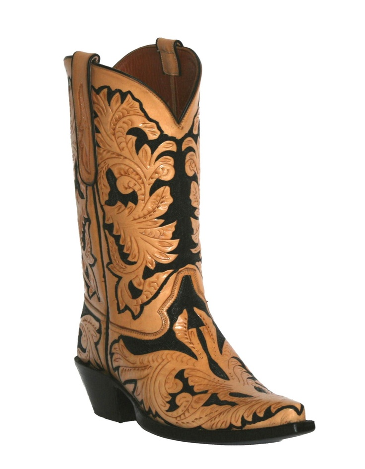 Black Jack Hand tooled Cowboy Boots