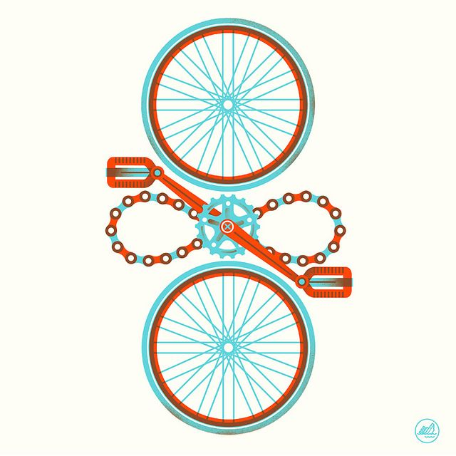 Hey, its the Richard Perez's  print contribution to this years ARTCRANK SF show.