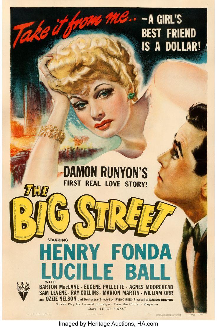 The Big Street (1942) I heard he really had a crush on her