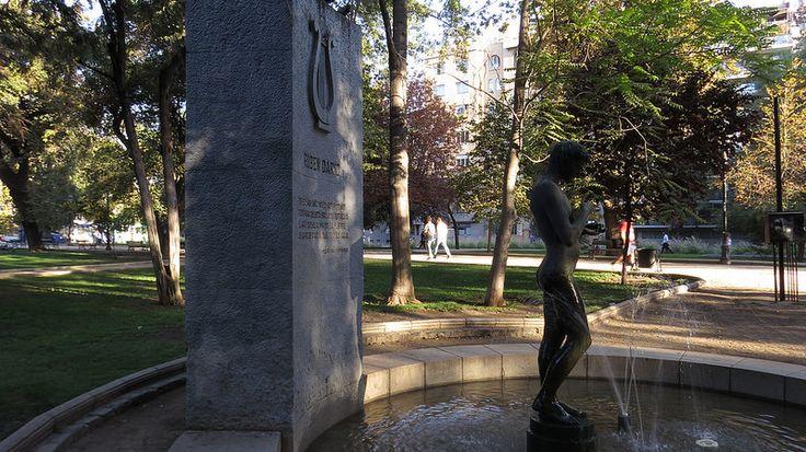 Narciso. Monumento a Rubén Darío Autor: Raúl Vargas Ubicación: Parque Forestal