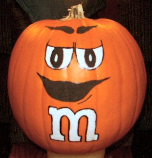 Staff pumpkin decorating contest.  Except mine is green. :)