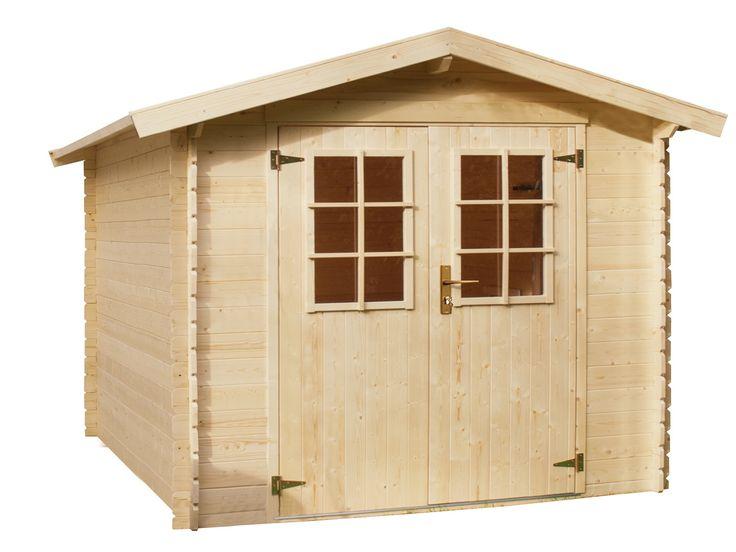 Luxury Holz Blockhaus mit Satteldach und Doppelt r