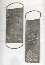 Farmhouse Food Grater/Slicer Wall Decor LARGE Old Grater Relics Weathered Metal