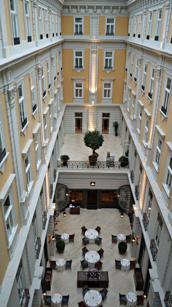 The Corinthia hotel budapest atrium