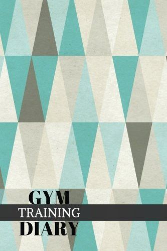 """Gym Training Diary: Traingles Fitness Journal, Gym & Nutrition Log 