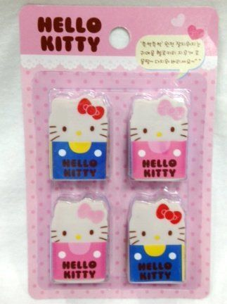 145 best toys games drawing painting supplies images on hello kitty eraser set 4 pcs included by sanrio 348 hello kitty altavistaventures Image collections