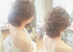 海外風花嫁になれる、王道モテヘア♡『ポニーテール』のブライダルヘアアレンジまとめ*