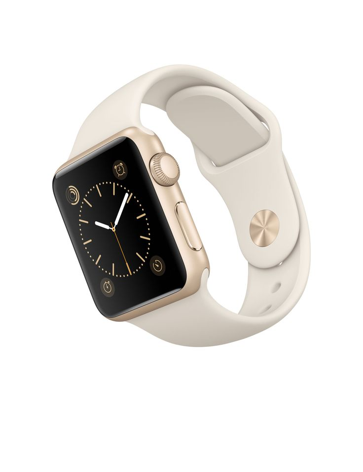 All I Want for Christmas:  Watch Sport - 38mm Gold Aluminum Case with Antique White Sport Band - Apple