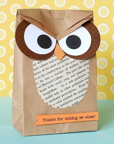 Teacher thank you gift wrap craft ideas pinterest for Thank you crafts for teachers