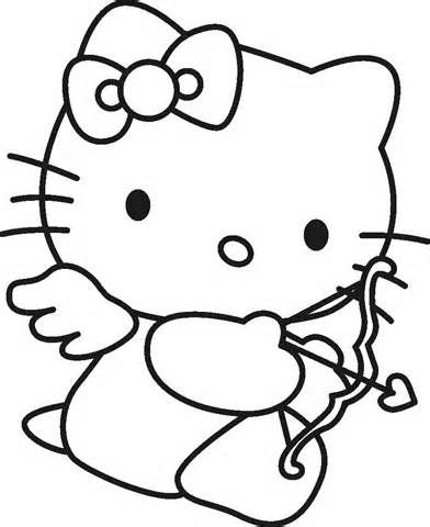 79 best pages to color with daughter images on Pinterest Coloring - new coloring pages with hello kitty