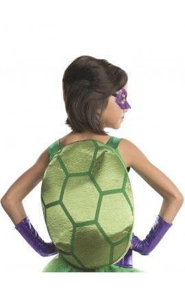 disfraz de donatello tortugas ninja deluxe para nia
