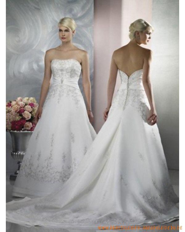 87 best Schönste Breutkleider images on Pinterest   Wedding frocks ...