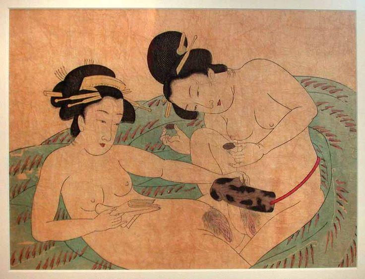 japanese lesbian dildo free