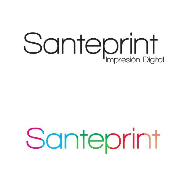 Logotipo de nuestra compañía hermana Santeprint.
