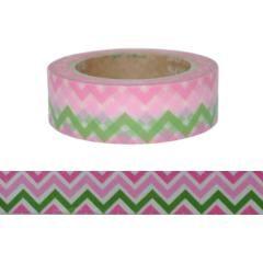 Washitejp - Sick sack rosa och grön