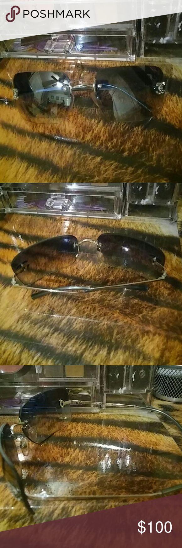 Last Sale Authentic chanel Sunglasses Excellent condition No case Other