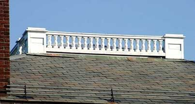 ideas for widow's walk trim on roof - Google Search