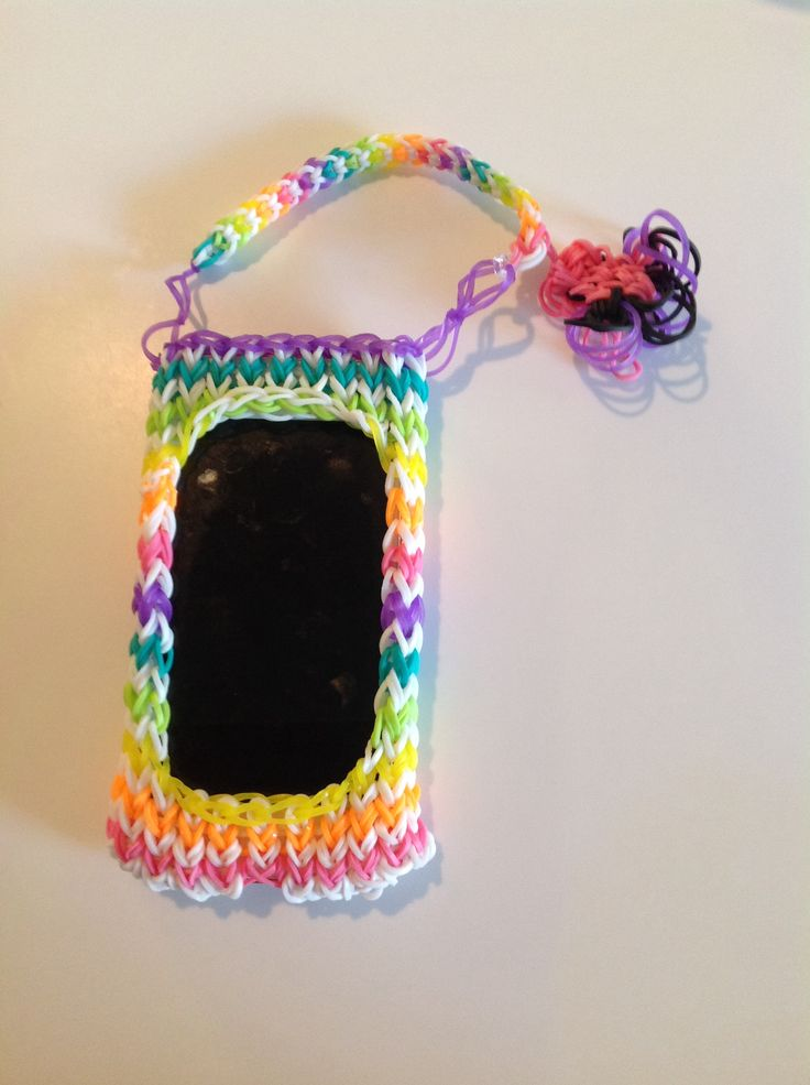 Rainbow loom iPod case. Selling for $7.00
