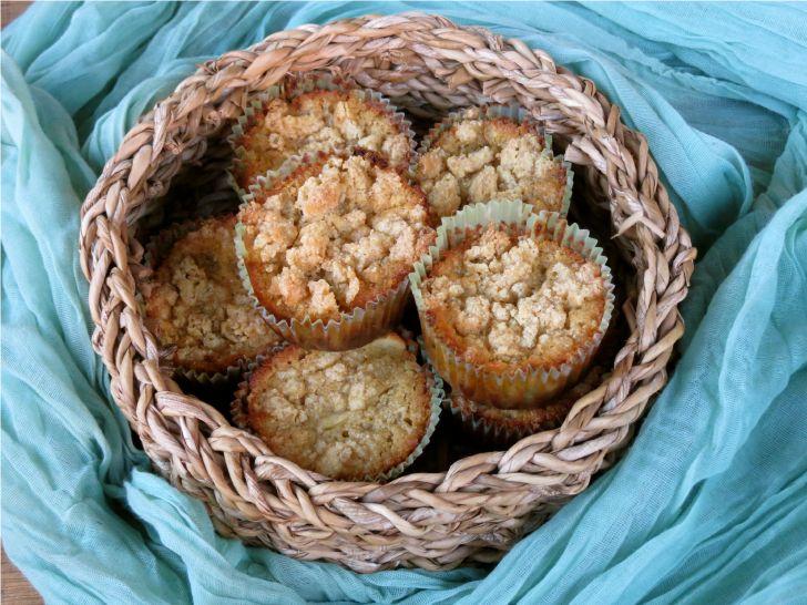 Receta Muffins con Harina de Quinoa y Manzana
