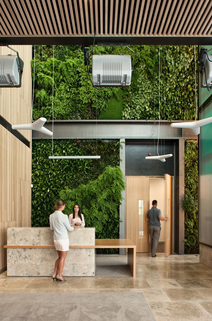 Livewall green wall system make conferences more comfortable - Find This Pin And More On Green Wall