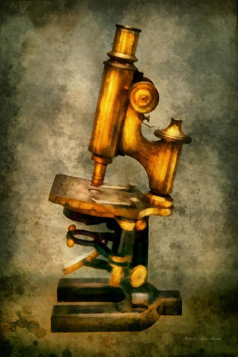 $37 Mike Savad - It was because of the microscope, that's was the real start of science. To be able to see past what you can see with the naked eye. So many discoveries, cures, and vaccines were discovered with microscopes. Today we still use them to see up close. Far more powerful than this brass beauty, we can see very small things. We also use them in forensics, biology and a number of other sciences.  #savad #microscope