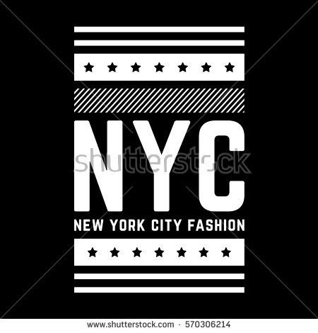 New york city. Retro geometric print. White authentic poster. Vintage banner.
