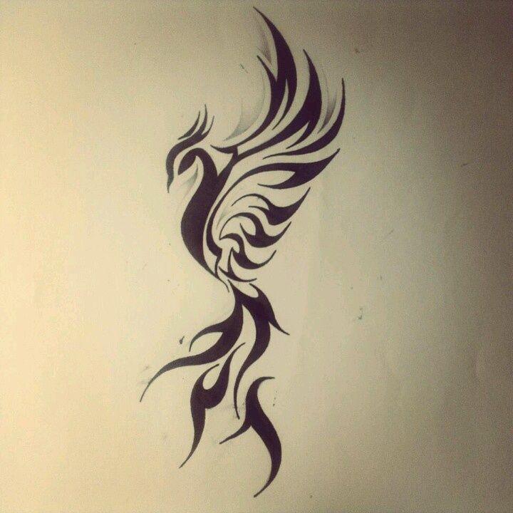 Image result for Feminine Phoenix Tattoo Designs