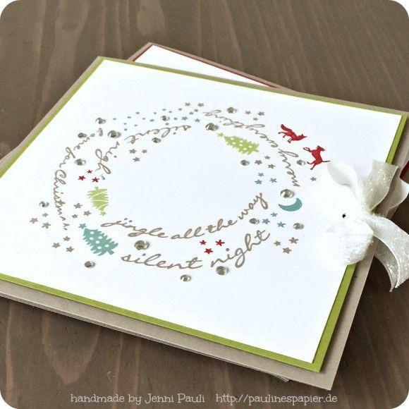 Weihnachtskarten selbst gestalten...