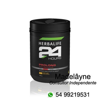 Herbalife24 Hours Prolong - Suplemento energético para atletas - energia extra durante o treino.  Recomendado tanto para atletas de resistência quanto para atletas de força.