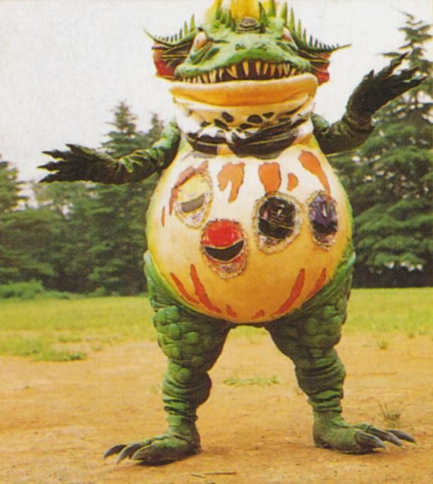 Terror Toad was a toad monster created by Rita Repulsa's monster maker Finster. He could swallow the Power Rangers by using an energy tongue that he emitted from his horn, which transformed them into energy balls to be consumed, as well as his actual tongue which he used to pull them into his mouth. After swallowing them, images of the Rangers' helmets would appear on his belly. He could also fire energy beams from his horn and deflects laser blasts with his belly. Finster created the…