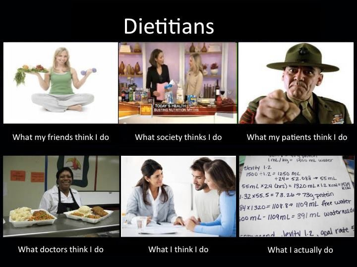 Image result for registered dietitian memes