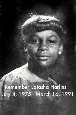 """A tale untold and not known by many. American Aboringine, 15 year old Latasha was shot in the head by a Korean store owner who thought she was stealing. After killing her she found the money in her hand. She served no prison time... Tupac used to speak about this :( """"Cuz here on earth, tell me what's a black life worth, a bottle of juice is no excuse. The truth hurts"""" -2pac R.I.P. Latasha Harlins."""
